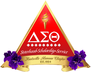 Delta, Sigma, Theta Sorority Huntsville Alumnae Chapter Logo